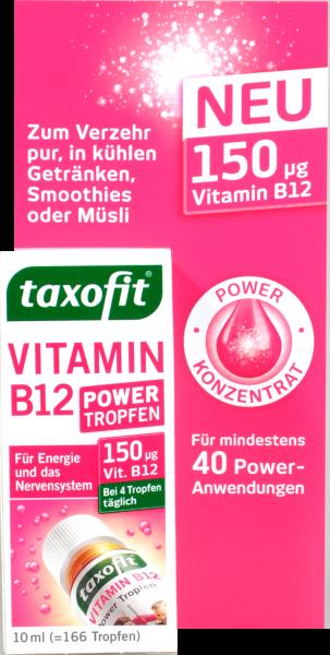 Taxofit Vitamin B 12 Power Tropfen, 10 ml