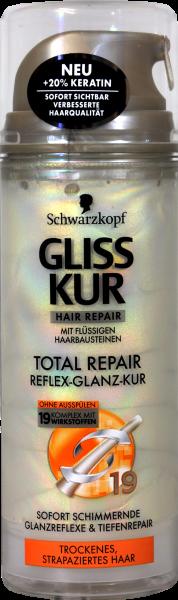 Gliss Total Repair Glanzkur, 150 ml