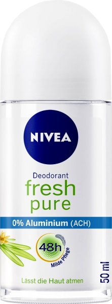 Nivea Roll On Fresh Pure, 50 ml