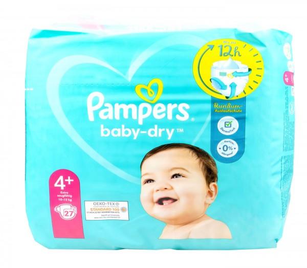 Pampers Baby Dry Windeln 4+ (10 - 15 kg), 32 er