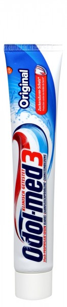 Odol Med 3 Zahncreme Original, 75 ml