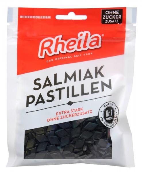 Rheila Salmiak Pastillen zuckerfrei, 90 g