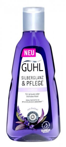 Guhl Shampoo Silberglanz & Pflege Noni und Öl, 250 ml