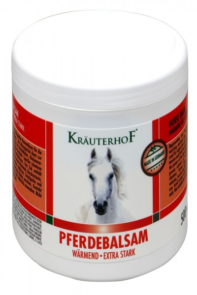 Kräuterhof Pferdebalsam wärmend extra stark, 500 ml