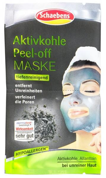 Schaebens Aktivkohle Peel-Off Maske, 16 ml