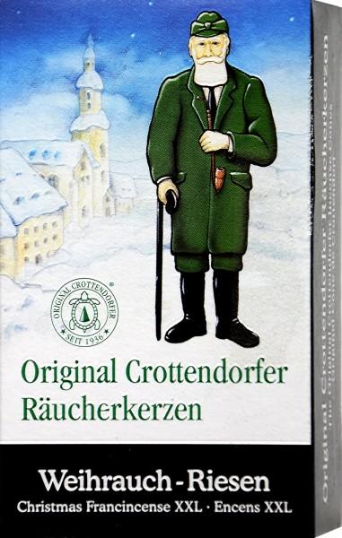 Crottendorfer Räucherkerzen Weihrauch-Riesen, 4 er