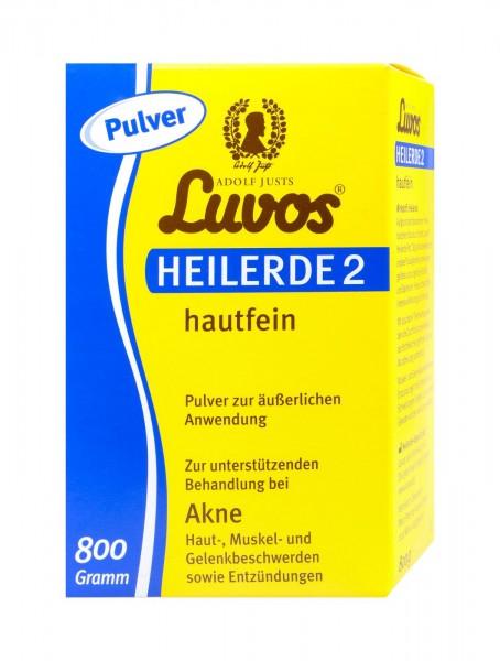 Luvos Heilerde 2 Hautfein, 950 g