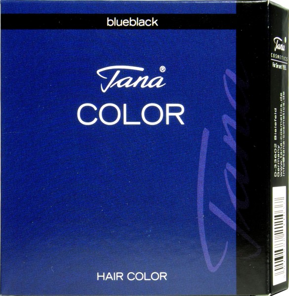 Tana Color Wimpernfarbe, Blauschwarz