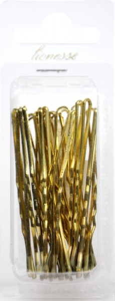 Haarklemme Gold 7 cm, 20 er