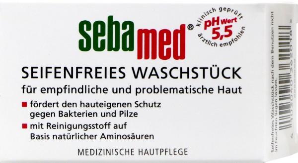 Sebamed Seifenfreies Waschstück, 50 g