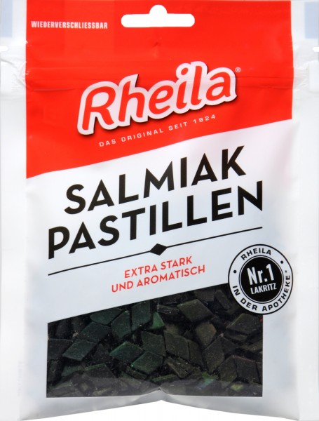 Rheila Salmiak Pastillen zuckerhaltig, 90 g