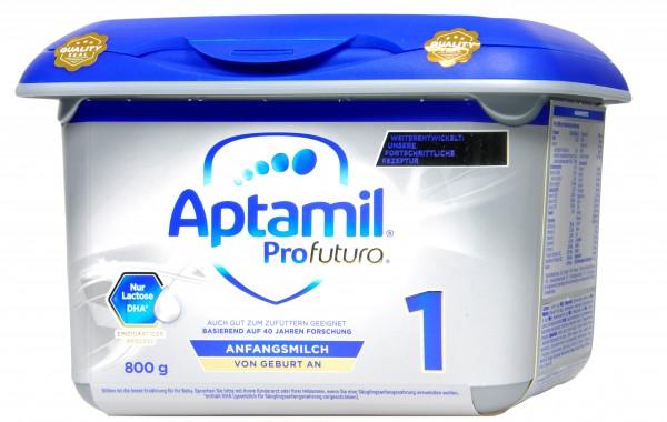Aptamil Profutura 1 von Geburt an Neu, 800 g