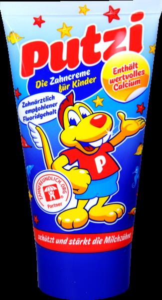 Putzi Kinder Zahncreme Calcium, 50 ml
