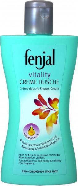 Fenjal Creme Dusche Erfrischend, Grantapfel & Grüner Tee, 200 ml