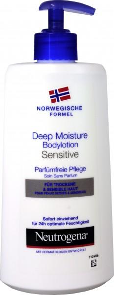 Neutrogena Bodylotion Sensitive Haut, 400 ml