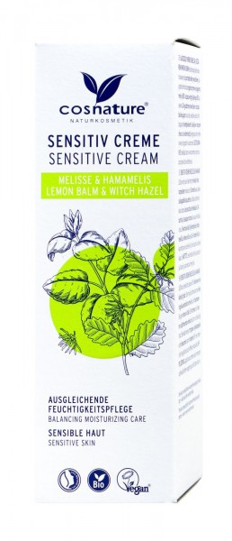 Cosnature Sensitive-Creme, 50 ml