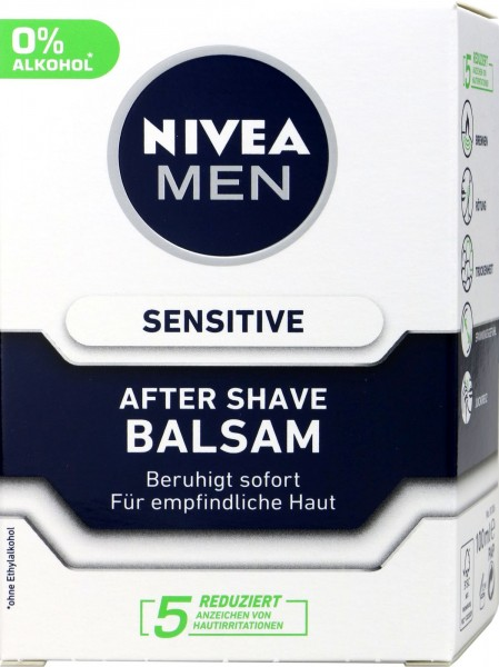 Nivea Men After Shave Balsam Sensitiv, 100 ml