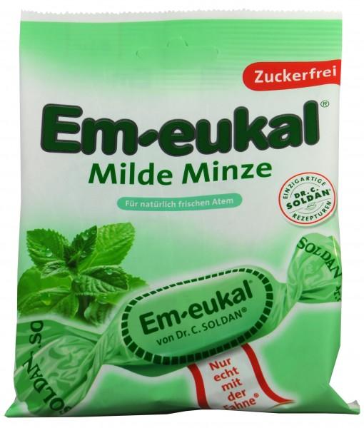 Em-Eukal Milde Minze Zuckerfrei, 75 g