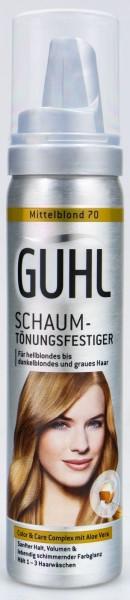 Guhl Schaum- Tönungfestiger 70 Mittelblond, 75 ml