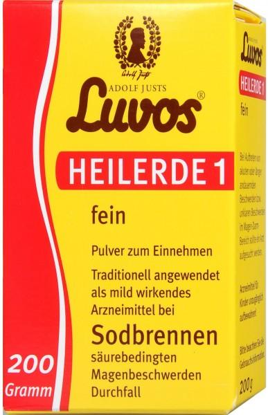 Luvus Heilerde 1 Fein, 200 g
