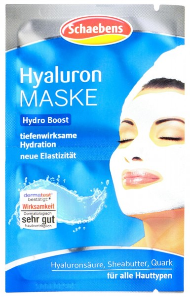 Schaebens Hyaluron Hydro Boost Maske, 2 x 5 ml