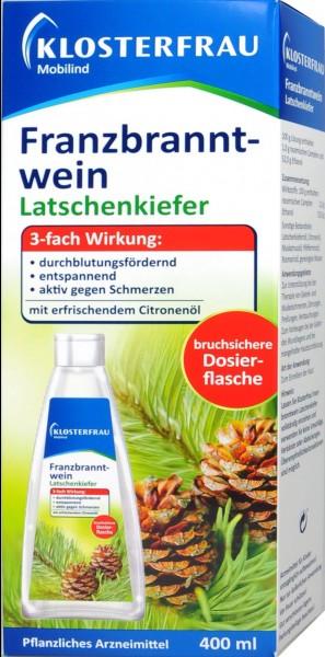 Klosterfrau Franzbranntwein Latschenkiefer, 400 ml
