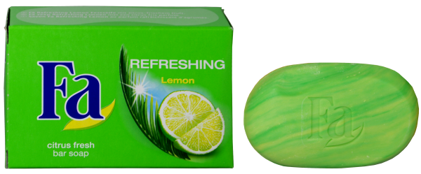 Fa Seife Lemon Fresh Grün, 100 g