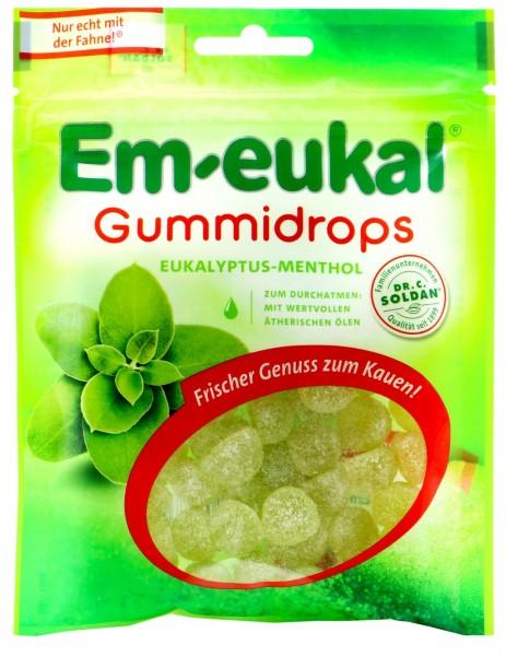Em-Eukal Gummidrops Eukalyptus-Menthol, 90 g