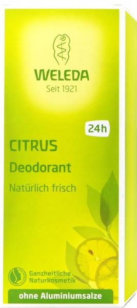 Weleda Citrus Deodorant, 100 ml