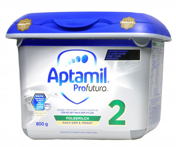 Aptamil Profutura 2 Folgemilch nach dem 6. Monat Neu, 800 g