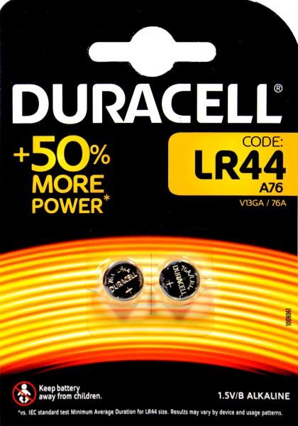 Duracell Electronics LR 44, 2 x 1,5 V