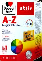 Doppelherz A-Z Depot Langzeit-Vitamine, 40 er