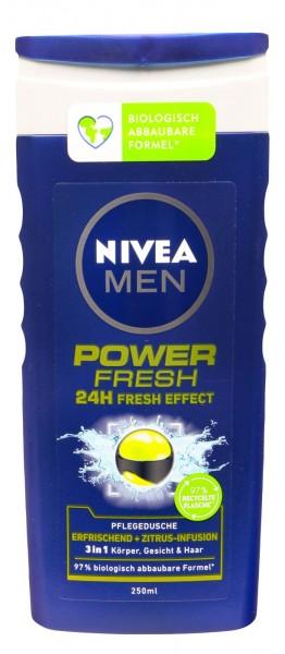 Nivea Men Pflegedusche Power Refresh, 250 ml