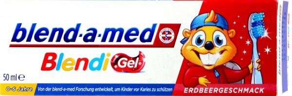 Blend-a-Med Blendi Gel Erdbeergeschmack, 50 ml