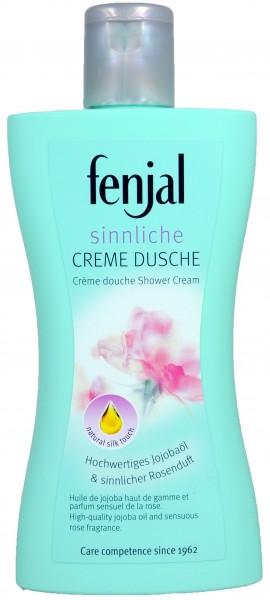 Fenjal Creme Dusche Sinnlich, Jojobaöl & Rosenblüten, 200 ml
