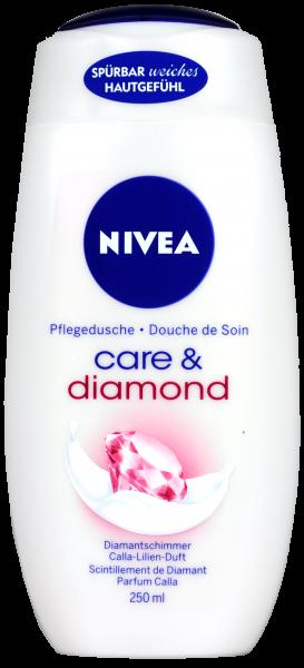 Nivea Dusche Care and Diamond, 250 ml