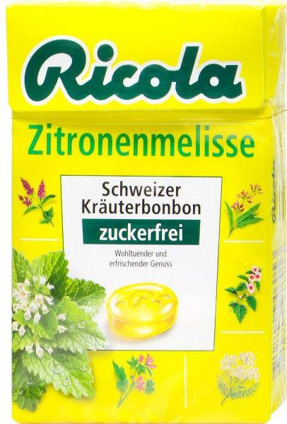 Ricola Böxli Zitronenmelisse Zuckerfrei, 50 g