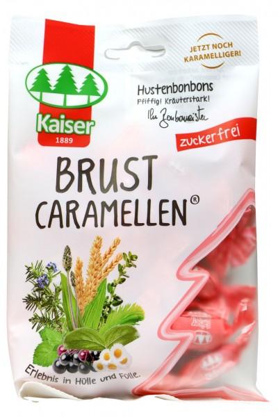 Kaiser Brust Caramellen Zuckerfrei, 75 g
