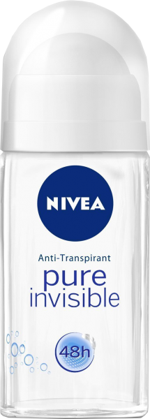 Nivea Roll On Pure Invisible, 50 ml