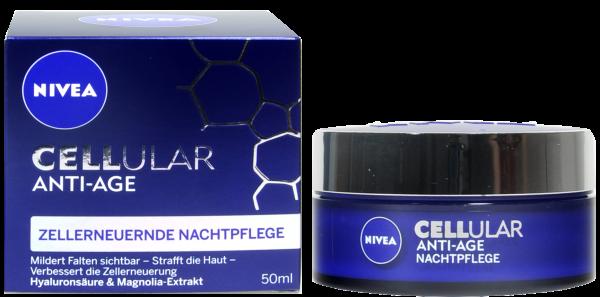 Nivea Visage Cellular Anti-Age Nachtcreme, 50 ml