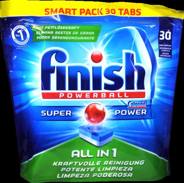 Finish / Calgon All In 1 Reinigungstabs, 27 er