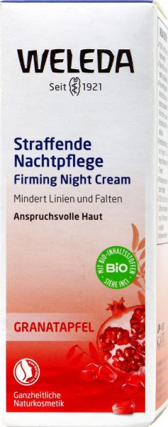 Weleda Granatapfel Nachtcreme, 30 ml