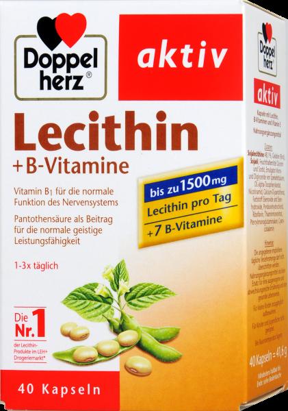 Doppelherz Lecithin + B-Vitamine, 40 er