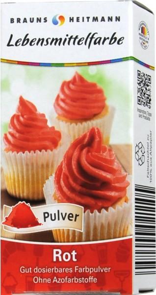 Lebensmittelfarbe Rot, 2 x 4 g