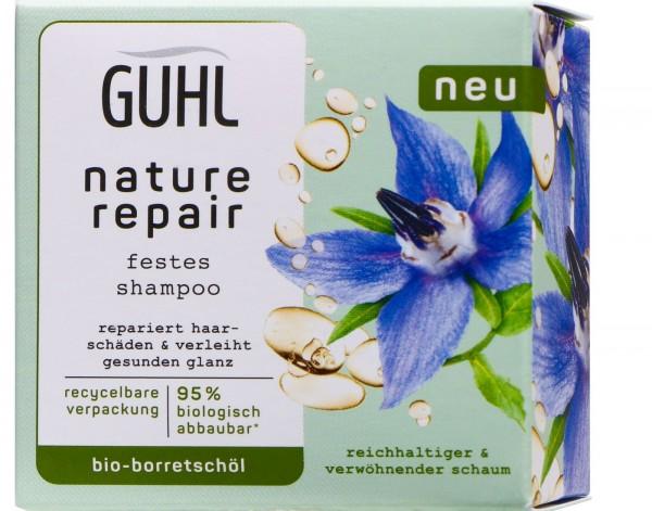 Guhl Festes Shampoo Nature Repair, 75 gr
