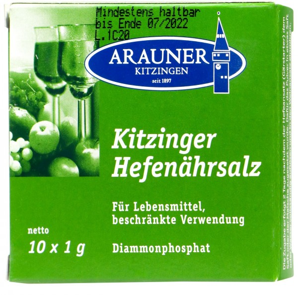 Kitzinger Hefenährsalz, 10 g