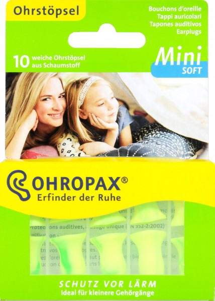 Ohropax Soft Mini, 10 er