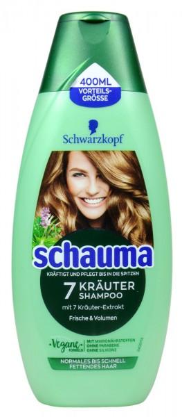 Schauma Shampoo 7 Kräuter, 400 ml