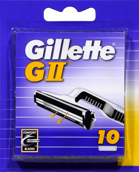 Gillette GII, 10 er