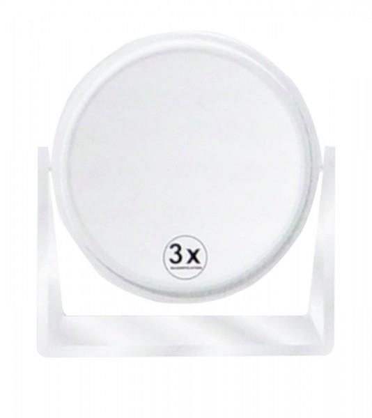 Kosmetikspiegel, 3 fach Vergrößerung, 19 cm